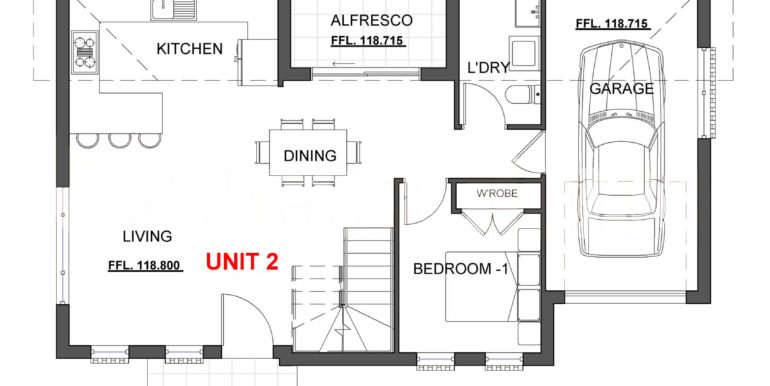 Gregroy Hills B Floorplan Ground
