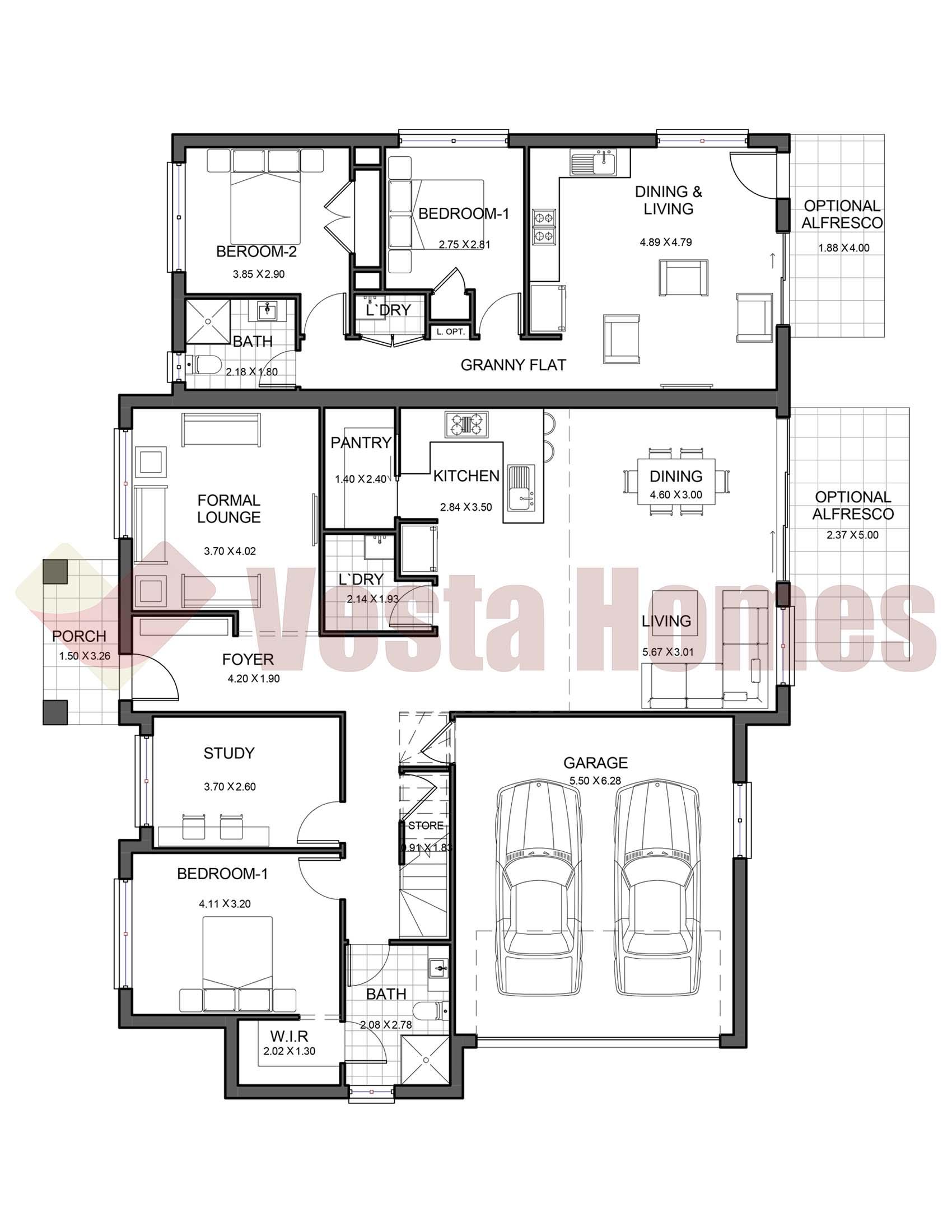 Springwood 38 Ground Vesta Homes Schematic Diagram X2 02 News